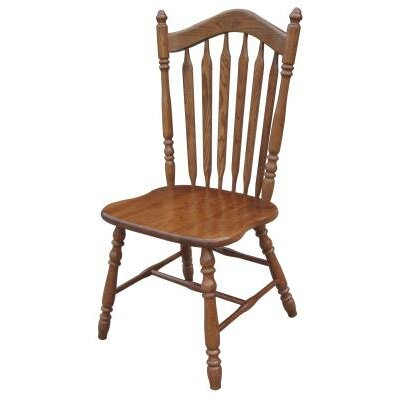 Jocelyn Side Chair Finish: Medium Oak