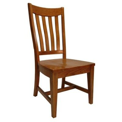 Jude Side Chair Finish: Medium Oak