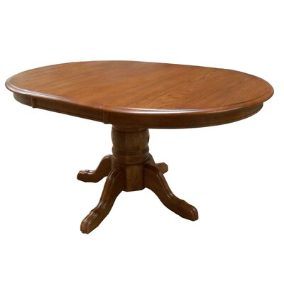 Softwood Extendable Dining Table Finish: Medium Oak