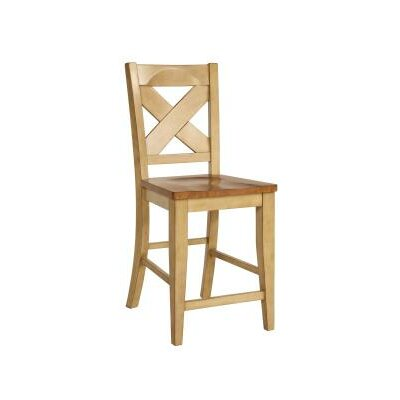 24 Bar Stool Finish: Two Tone