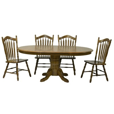 Sourwood Dining Table Finish: Medium Oak