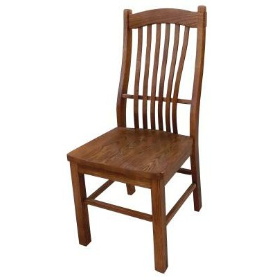 Side Chair Finish: Medium Oak