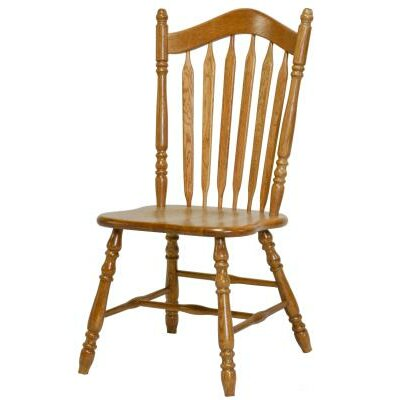 Jocelyn Side Chair Finish: Harvest Oak