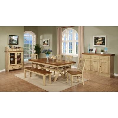 Vail Dining Table Finish: Two Tone