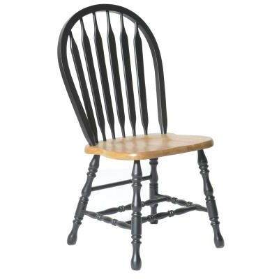 Isley Side Chair Finish: Harvest & Black