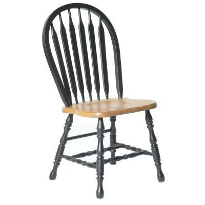 Isley Side Chair Finish: Harvest & Black