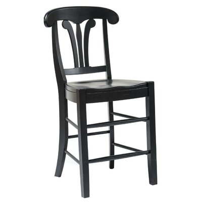 Adams 24 Bar Stool Finish: Black