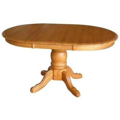 Softwood Extendable Dining Table Finish: Harvest Oak