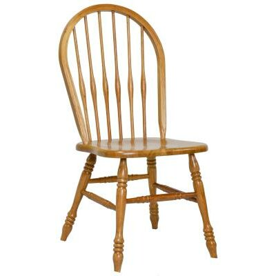 Ives Side Chair Finish: Harvest Oak