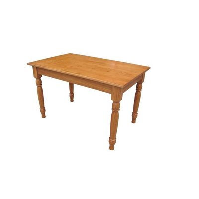Rosewood Dining Table Finish: Harvest Oak