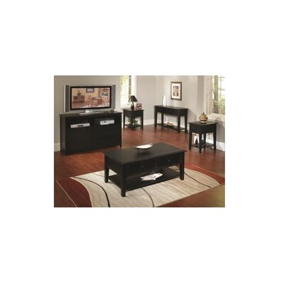 Barnstable Coffee Table Color: Black