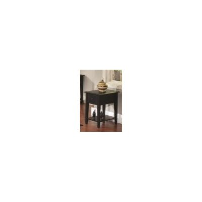 Ashby End Table Finish: Black