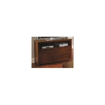 Becket 34 TV Stand Color: Tobacco