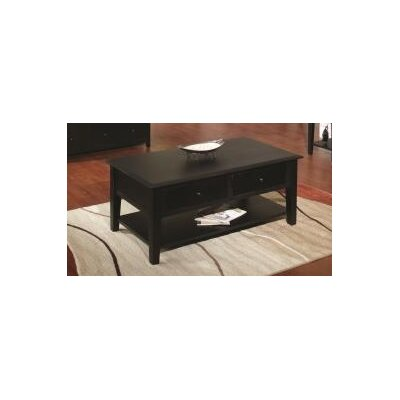 Ayer Coffee Table Finish: Black