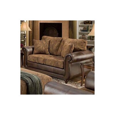 185852-6370 AMF1374 Chelsea Home Isle Loveseat