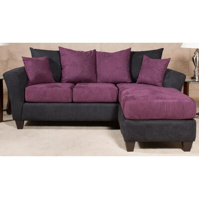 212120-59-CS-BB CHFC3124 Chelsea Home Lowell Chaise Sofa