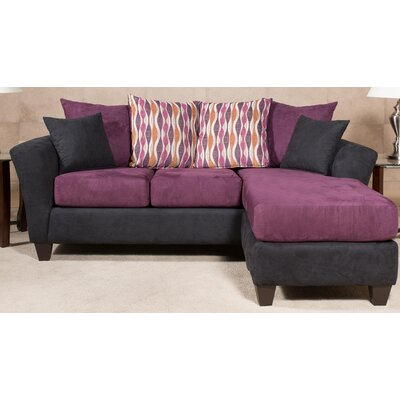 212120-61-CS-BE CHFC3126 Chelsea Home Ludlow Chaise Sofa