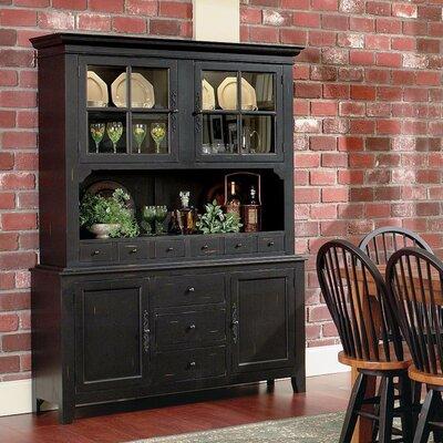 Bedford China Cabinet Color: Vintage Distressed Black