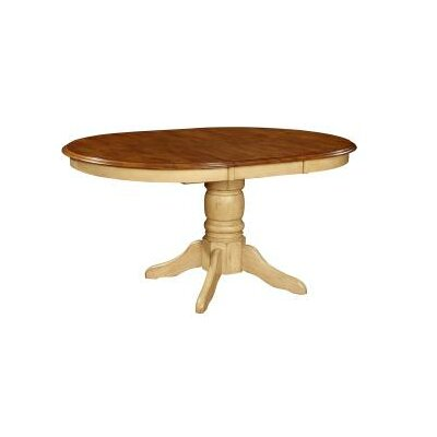Vahn Dining Table Finish: Pecan & Black