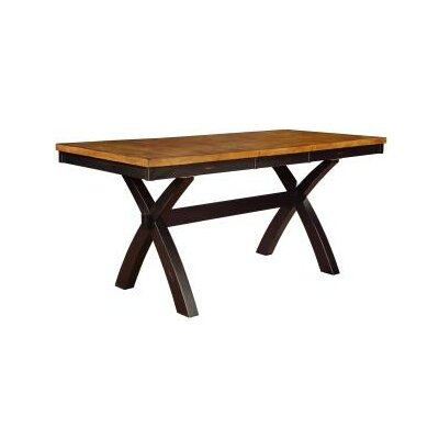 Tyne Dining Table Finish: Harvest & Black