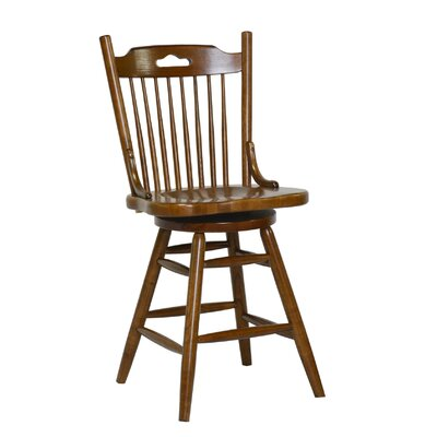 24 Bar Stool Finish: Burnished Walnut