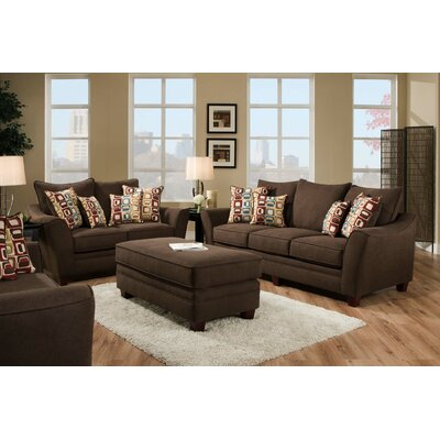 Chelsea Home 183853-4310-S-HW / 183853-4309-S-HB Cupertino Living Room Collection