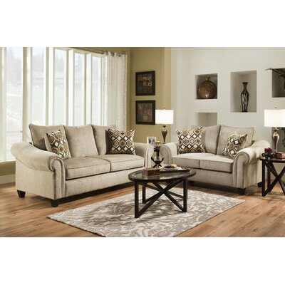 Chelsea Home 182703-1821-S-CP / 182703-1820-S-CC Alfred Living Room Collection
