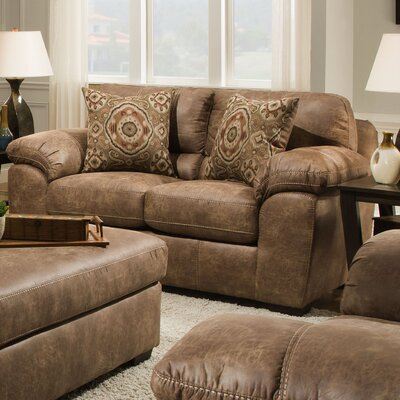 Ace Loveseat Upholstery: Santa Fe Silt
