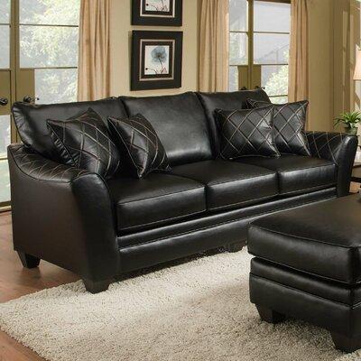 Sleeper Sofa Upholstery: Bolt Black