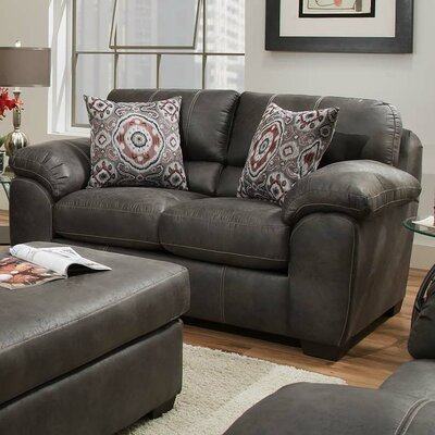 Ace Loveseat Upholstery: Santa Fe Grey
