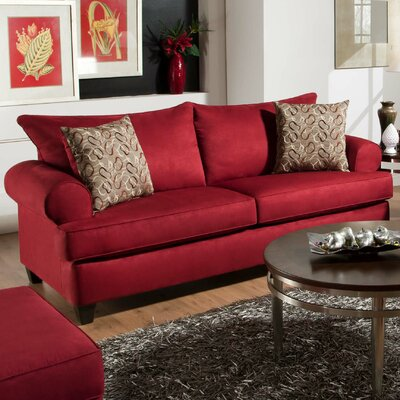 William Sofa Upholstery: Montana Crimson