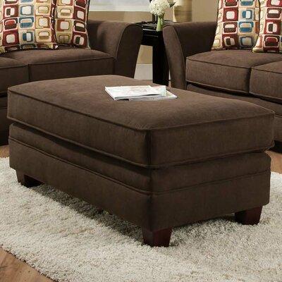 Cupertino Ottoman Upholstery: Haskett Walnut