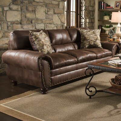 Richard Sofa Upholstery: Rochester Chocolate
