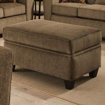 Ashton Storage Ottoman Upholstery: Cornell Cocoa