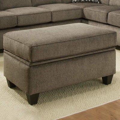 Ashton Storage Ottoman Upholstery: Cornell Pewter