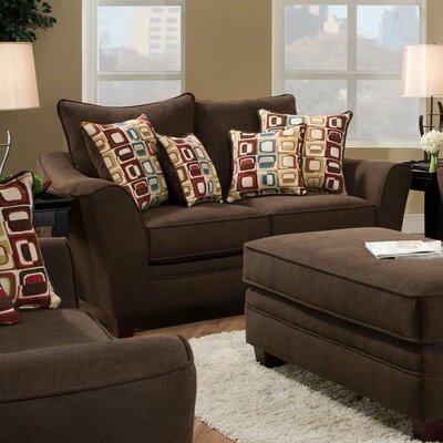 Cupertino Sofa Upholstery: Haskett Walnut
