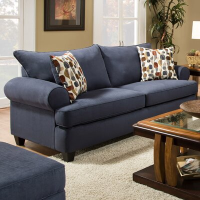 William Sofa Upholstery: Soho Navy