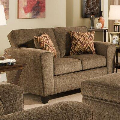 Ashton Loveseat Upholstery: Cornell Cocoa