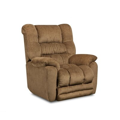 Napa Recliner Type: Manual, Upholstery: Temptation Fawn