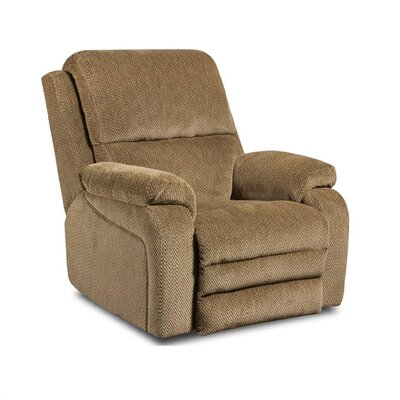 Oakdale Recliner Upholstery: Gazette Basil, Type: Manual