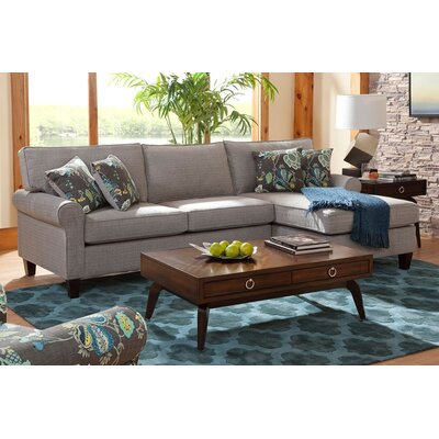 Hyde Chaise Sectional Orientation: Right