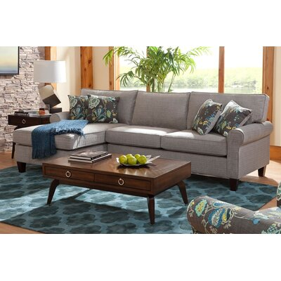 Hyde Chaise Sectional Orientation: Left