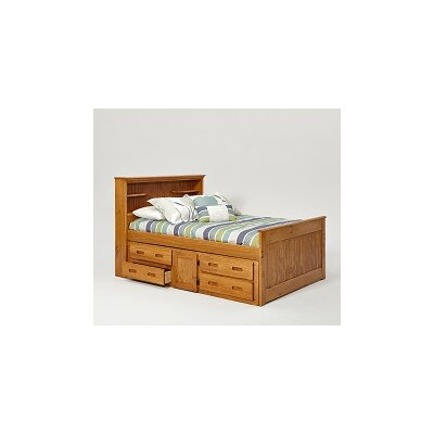 Captain Bed with Under Storage Size: Full