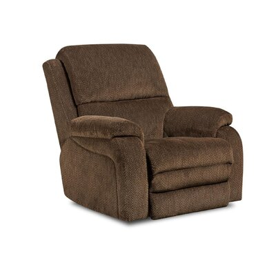 Oakdale Recliner Upholstery: Gazette Basil, Type: Power