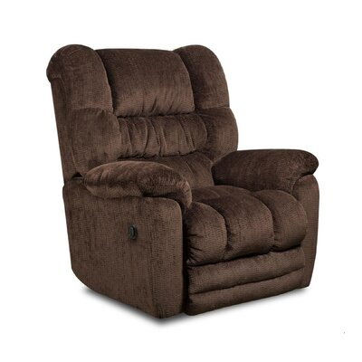 Napa Recliner Type: Manual, Upholstery: Temptation Merlot