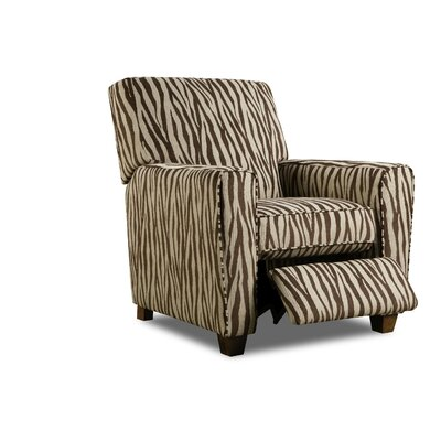 Barras Manual Lift Assist Recliner Upholstery: Zebra Chocolate