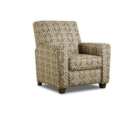 Barras Manual Recliner Upholstery: Indira Sand