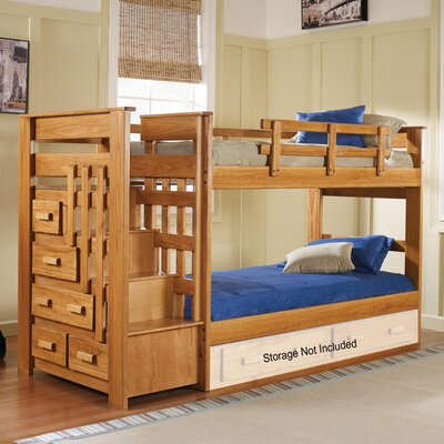 Bunk Bed Size: Twin over Twin