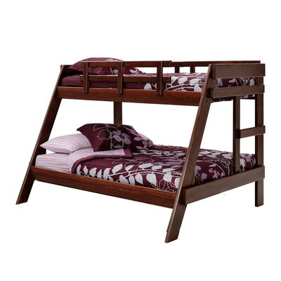 Twin over Full Bunk Bed Finish: Dark