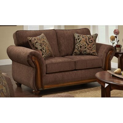 Courtney Sofa Upholstery: Brown